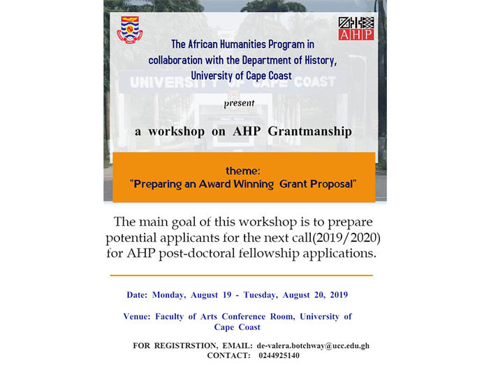 AHP Grant Writing  Poster